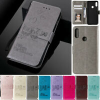 Owl Wallet Leather Flip Case Cover For Samsung S20 S10 S9 Plus A30s A50s A51 A11