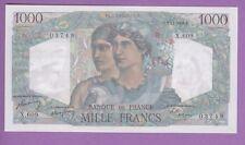 (Ref: X.609) 1000 FRANCS MINERVE ET HERCULE 3/11/1949 (NEUF) ASSEZ RARE