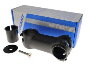 "GIANT Contact OD2 Bike Stem 31.8mm 1-1/4"" w/1-1/8"" Spacer  50~120mm Matt Black"