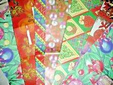 More details for vintage retro 70s 80s christmas wrapping paper vintage gift wrap retro xmas tags