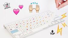 Teclado de silicona teclado cubierta emoji Apple Macbook Pro Air Teclado Y Software