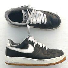 sale retailer 5e785 e2595 Nike Air Force 1 men s shoes Seersucker Size 9.5 Black White Stripes  488298-046