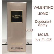 Valentino UOMO DEODORANT Spray 5.1 Fl Oz - 150 ml, NIB