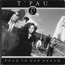 "T'PAU ROAD TO OUR DREAM 3"" CD SINGLE IN GATEFOLD CARD SLEEVE WITH LYRICS 1988"