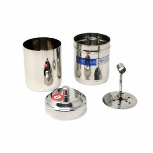 Stainless Steel South Indian Filter Coffee Drip Maker  Free Shipping
