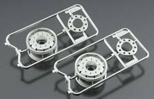 Tamiya 56520 Metal Plated Wheels 30mm R/C Tractor Truck Width Matte Finish