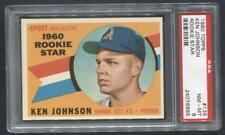 1960 Topps #135 Ken Johnson RC (Athletics)  PSA 8  (Flat Rate Ship)