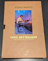 Star Wars Luke Skywalker: Last Hope For The Galaxy. Hardcover Book and Slipcase