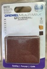 Dremel Accessories MM731 Contour Sanding Tubes, New Sealed Package Of 9