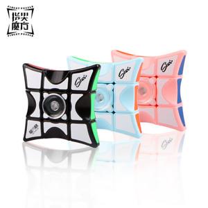 Qiyi Fidget spinner Rubik's cube 1X3X3 Finger Rubik's Cube