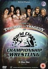 Triumph and Tragedy of WCCW  ORIG 2 DVDs WWE Wrestling WWF