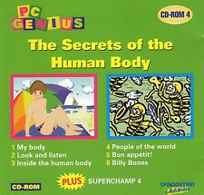 MATHS ENGLISH SCIENCE | Secrets the Human body | Win 95 98 XP|7 8 10 see listing