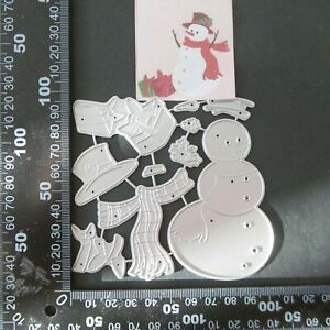 Cutting Dies*SNOWMAN*Cards*Toppers*