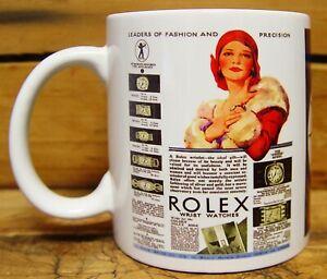 300ML CERAMIC COFFEE MUG - ROLEX WATCHES
