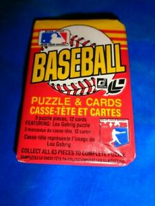 1985 Donruss Leaf Baseball Wax Pack as pictured (SC45)
