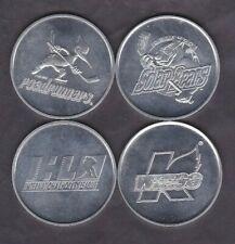 4 Different Days Inn IHL Hockey Team Logo Coins