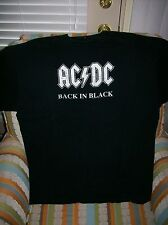 ACDC Back In Black Large to Extra-Large heavy T-shirt