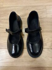 Womens dr martens shoes size 5 Black  Leather