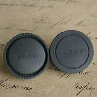 2pcs/Set Rear Lens Cap Cover For Sony E-mount NEX3/5/6/7 A6000 A7 A7R A7II A7SF