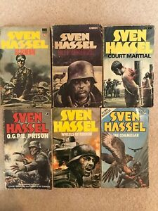 6 Corgi Sven Hassel books - 2 of which are 1st Editions.