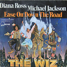 "Vinyle 45T Michael Jackson / Diana Ross  ""Ease on down the road - The Wiz"""