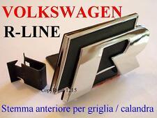 VW VOLKSWAGEN R Line RLine R- GTI Golf 4 5 6 Stemma GRIGLIA CALANDRA FRONTALE Ad
