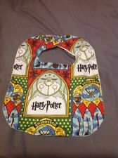 Harry Potter Quidditch Brooms Wizards Extra Large Baby Toddler Drool Bib