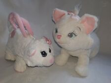 Authentic Disney Store Marie (The Aristocat) Soft Toy & Matalan Soft Toy/Bag