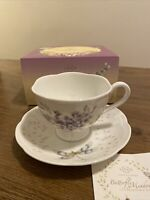 Lenox Butterfly me Afow Dragonfly Cup And Saucer Set