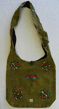 R433 New Trendy & Artistic Shoulder Drop Cotton Bag Hand Made in Nepal