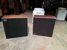 2 Vintage SONY HP-550 System Large Cabinet Speaker 8 Ohms