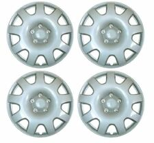 "Set of 4 15"" Silver Wheel Trims / Hub Caps fits Peugeot Partner 207 308 306 605"