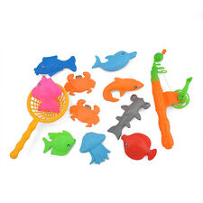 Funny Magnetic Fishing Game Toy Rod Hook Catch Kids Children Bath Time Gift