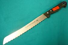 """Solingen Germany Gustav Emil Ern SS Slicer Knife 8"""" Serrated Blade NOS MINT!"""