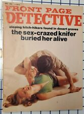 Front Page Detective Magazine - December 1973