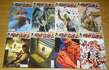 "Chuck Palahniuk's Fight Club 2 #1-10 VF/NM complete series + fcbd - ""B"" covers"