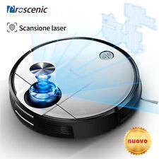 Proscenic M6 Pro Laser Robot Aspirapolvere lavapavimenti APP Mappatura navigazio