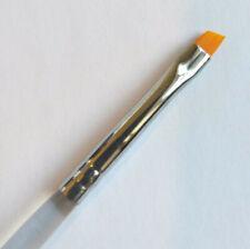 Nail Art Brush Flat Angled n. 2 Gel Acrylic Drawing painting makeup liner brows