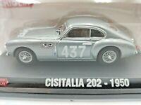Hachette 1000 Miglia Cisitalia 202 1950 No 437 Diecast Model Car 1:43 Scale