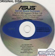 ASUS GENUINE VINTAGE ORIGINAL DISK FOR NCLV-DS SERVER Drivers Disk S095