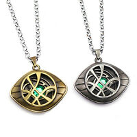 Dr Doctor Strange Pendant Eye of Agamotto Necklace Cosplay Prop Dr Doctor