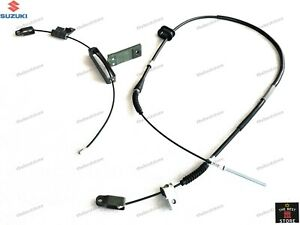 OEM SUZUKI SAMURAI EMERGENCY HAND BRAKE CABLE 1+2 FIT BOTH LEFT & RIGHT HAND DRI