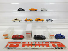 CK978-0,5 #10x wiking H0 / 1:87 Car: VW + Porsche Spyder + 204 Ford + Audi + MB,