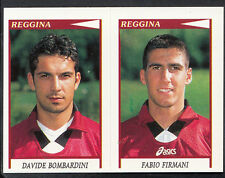Panini Calciatori Football 1998 Sticker, No 580, Reggina - Bombardini & Firmani