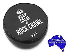 "1:10 RC Tyre tire cover for 1.9 Crawler wheels - ""Keep Calm...."" may suit Axial"