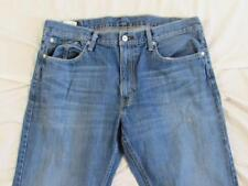 Levi 559 Straight Leg Relaxed Fit Faded Denim Jean Tag 36x30 Measure 36x30