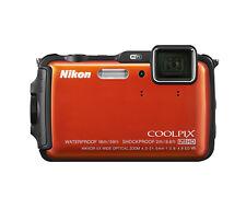 Nikon COOLPIX AW120 16,0 MP Digitalkamera - Orange