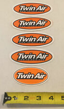 New Listing Twin Air Filters Mx Atv Off-Road Racing Motocross Decal Sticker Emblem Set Of 5