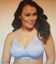 Playtex 18 HOUR: Size: 18 D. Ulitmate Lift & Support ZEN BLUE WireFree Comfy Bra