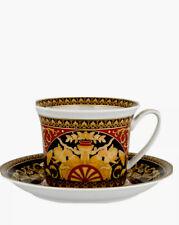 VERSACE Rare Rosenthal MEDUSA RED Large Breakfast Cup Mug & Saucer! $330